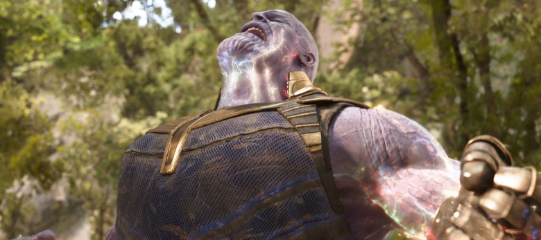 Ant-Man Attacking Thanos Butt Debunked