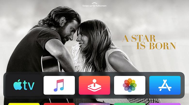 Apple TV Updates - New Home Screen