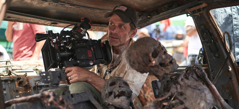 army of the dead behind-the-scenes