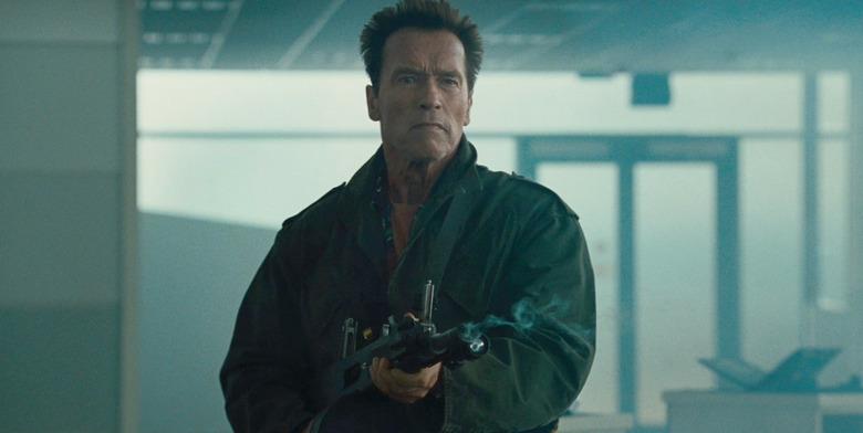 Arnold Schwarzenegger in Kung Fury
