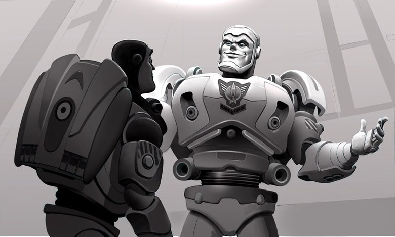 abandoned Toy Story 3 concept art