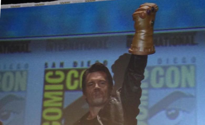 Josh Brolin Thanos Comic Con