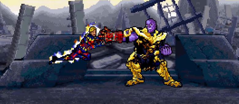 Avengers: Endgame 16-Bit Final Battle Part 2