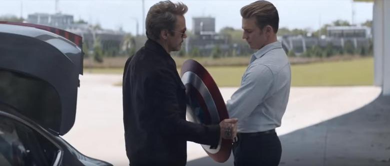 Avengers Endgame - Tony Stark and Steve Rogers
