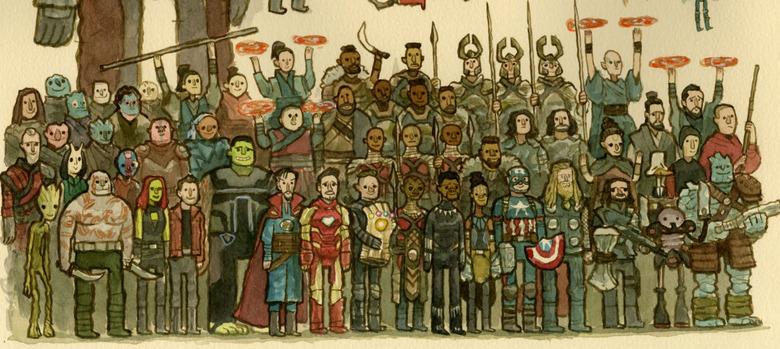 avengers endgame scott c art