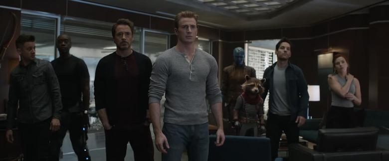 Avengers Endgame Title