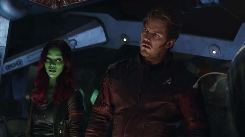 Avengers Infinity War deleted scene
