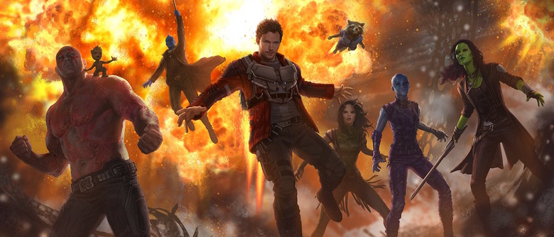 Avengers Infinity War Guardians of the Galaxy Vol 2