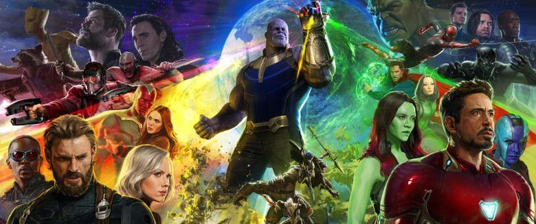Avengers Infinity War heist