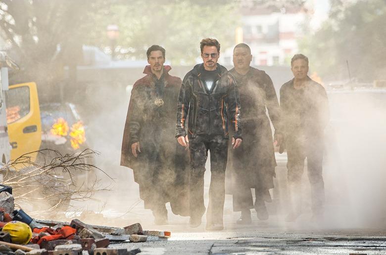infinity war opening weekend box office