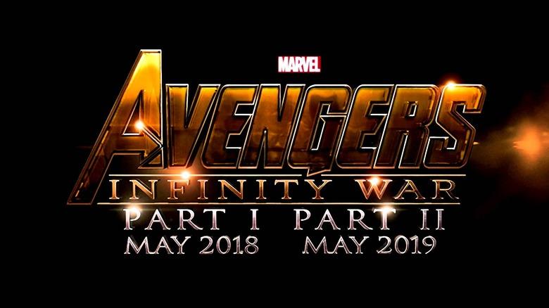 The Avengers Infinity War script update