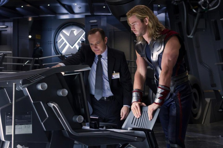 Thor Coulson Avengers R Rating