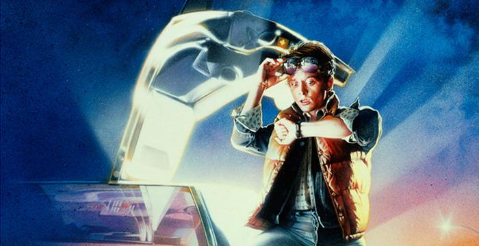 Back to the Future Screen Print