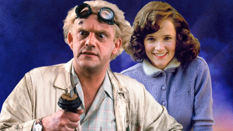 Back To The Future Stars Lea Thompson And Christopher Lloyd Will Time Travel Again In A... Hallmark Christmas Movie