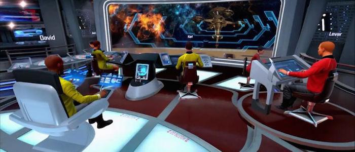 star trek VR game