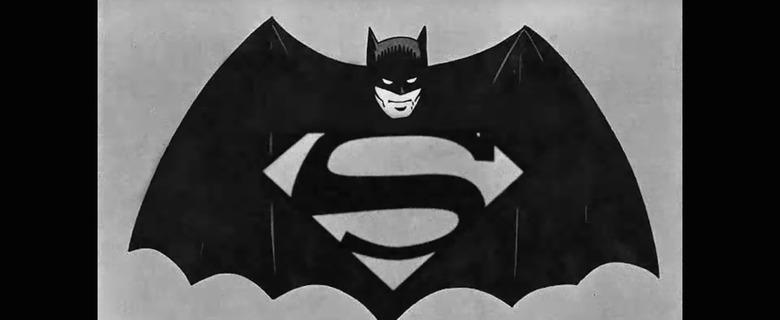 Batman v Superman 1940s trailer