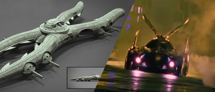 Batmobile concept art