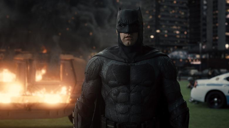 Ben Affleck as sad Batman