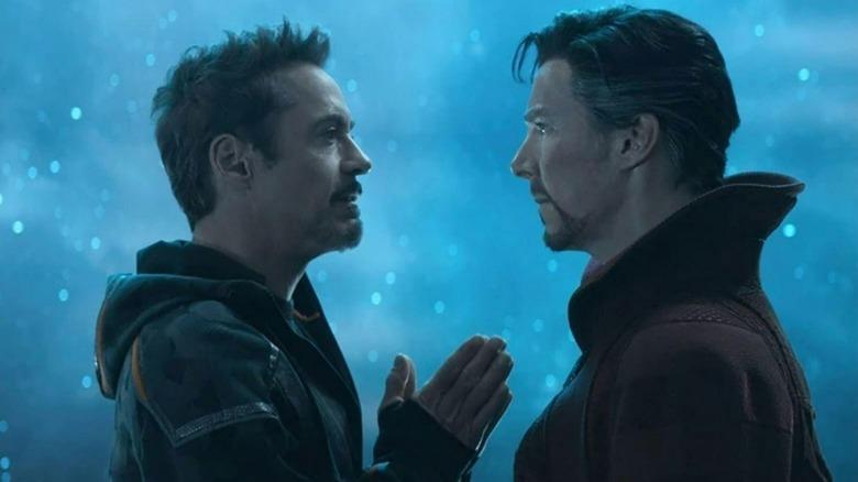 Benedict Cumberbatch Improvised Calling Tony Stark A  Douchebag  In Avengers: Infinity War