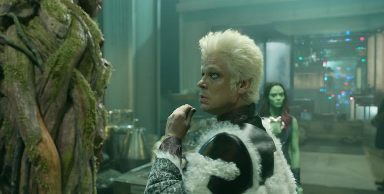 Benicio Del Toro as The Collector in Guardians of the Galaxy