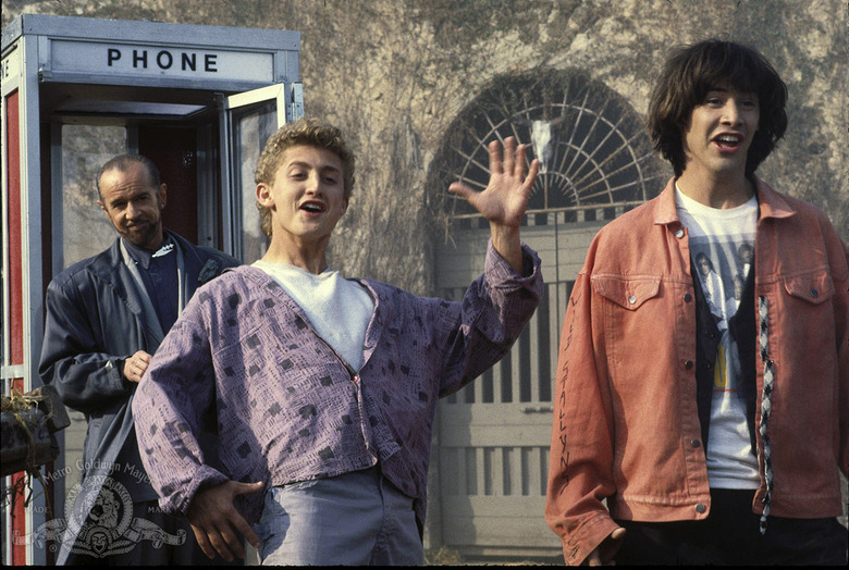 bill and ted original script pages