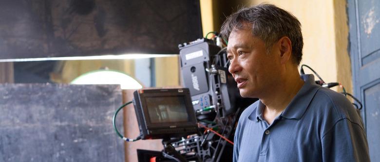 Ang Lee directing Life of Pi