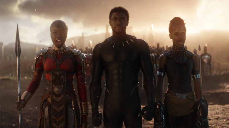 Black Panther 2 Set Photos Reveal Riri Williams, New Looks For Shuri And Okoye