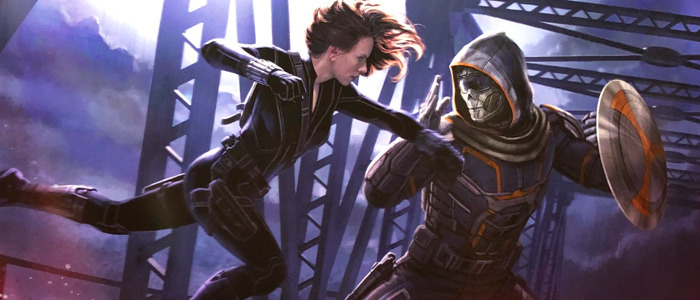Black Widow concept art Taskmaster