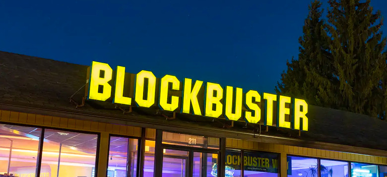 last blockbuster rental