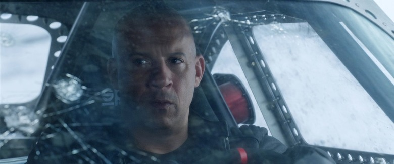 Fate of the Furious Fast and Furious Vin Diesel