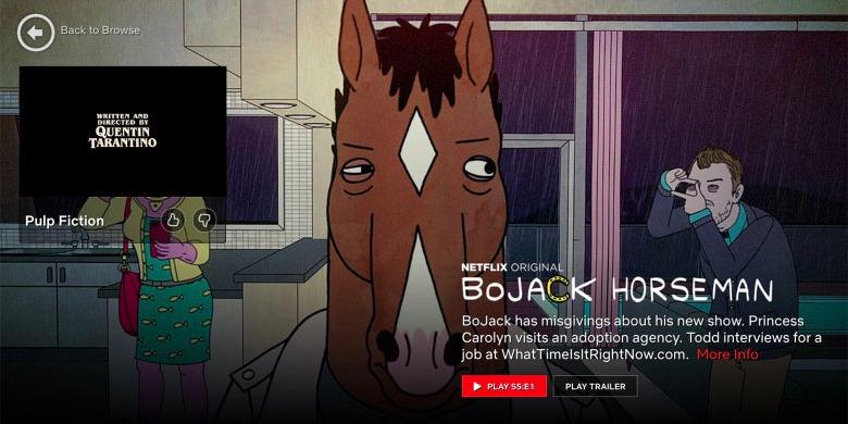 Netflix Shrinking End Credits