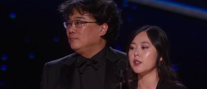 Bong Joon-ho's translator, Sharon Choi