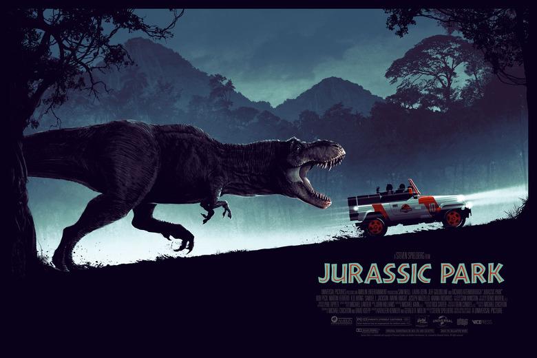 "Matt Ferguson ""Jurassic Park"" Variant Screen print"