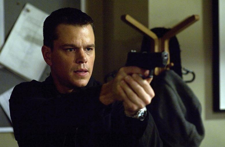 Matt Damon in Bourne