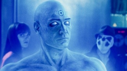 watchmen blue glow