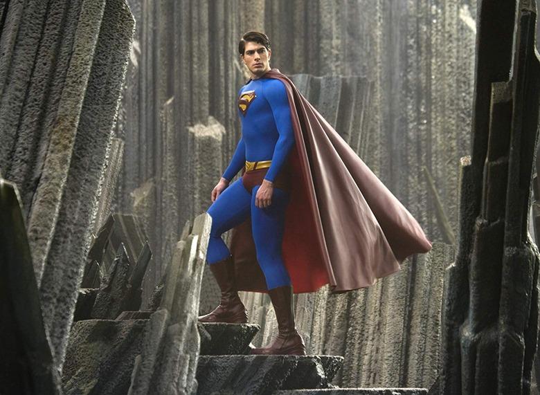 brandon routh on superman returns