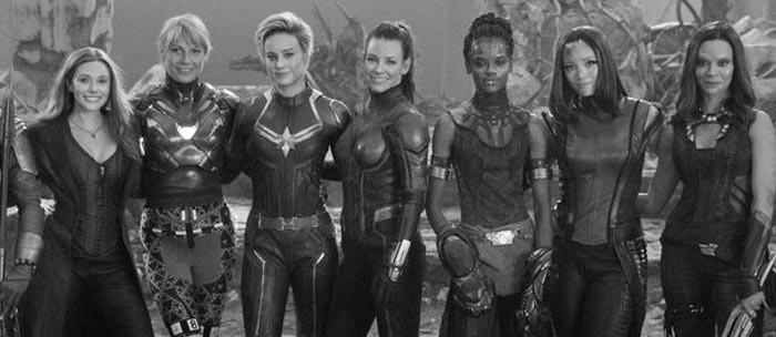 Avengers Endgame - Female Line-Up