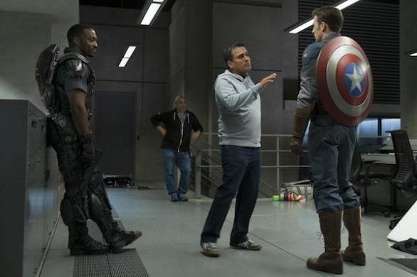 Captain America 2 behind the scenes