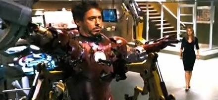 Captain America's Shield Spotted in Iron Man