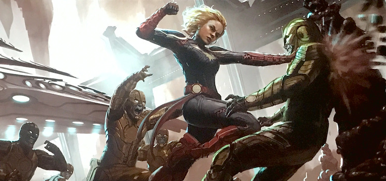 Captain Marvel in avengers infinity war