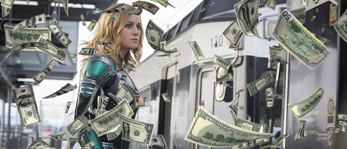 Captain Marvel opening weekend