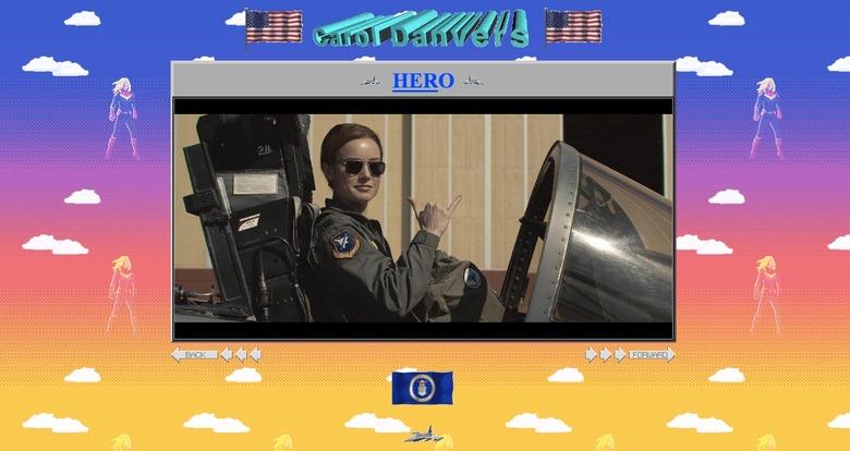 Captain Marvel Website