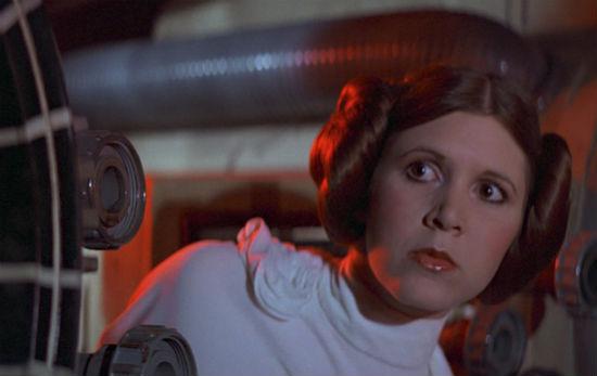 Princess Leia Carrie Fisher