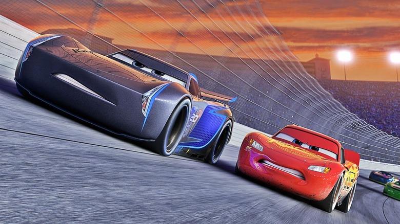 Cars 3 Scene Evolution