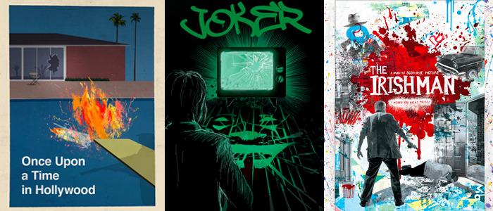 2020 Oscar nominees artwork