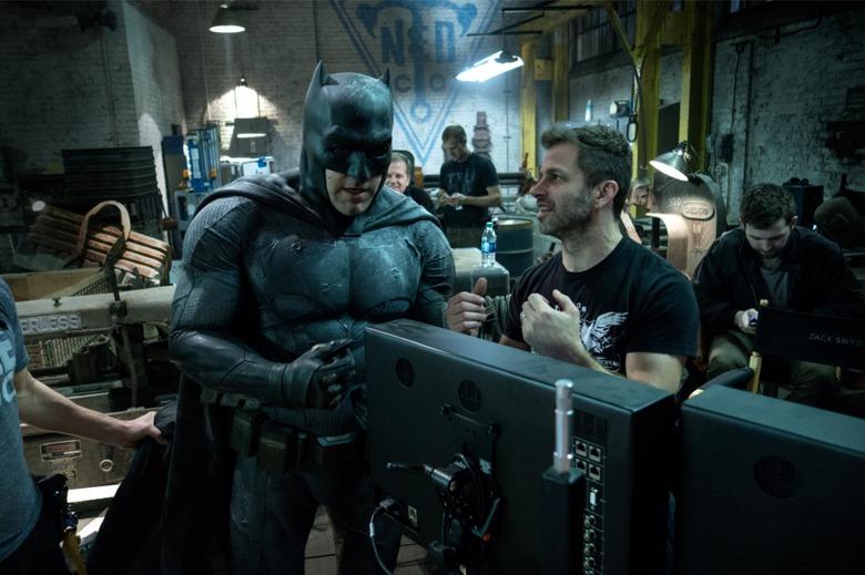 Zack Snyder behind the scenes of Batman V Superman