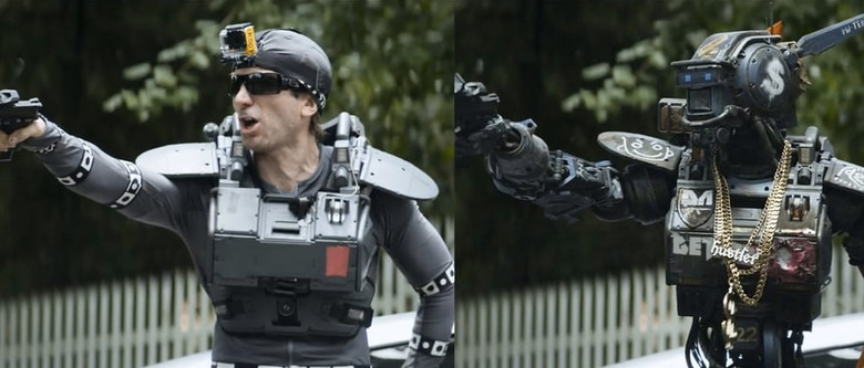 Chappie visual effects