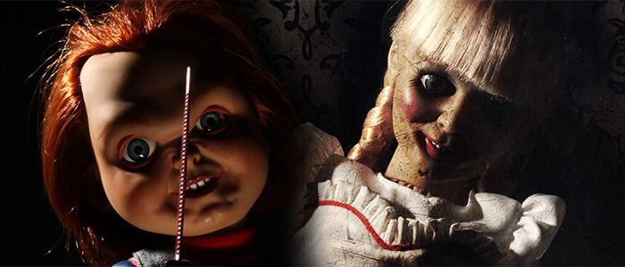 Child's Play Action Figure and Real Annabelle Doll