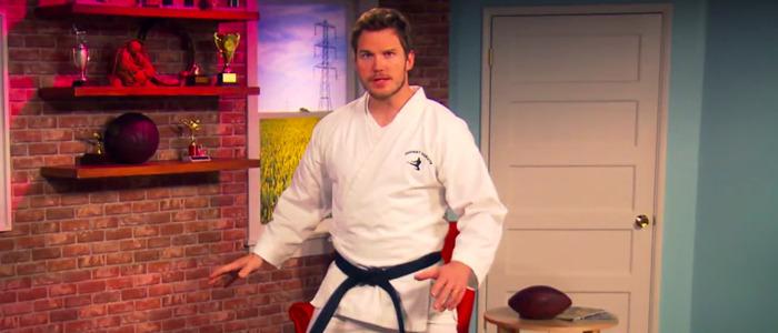 Chris Pratt karate
