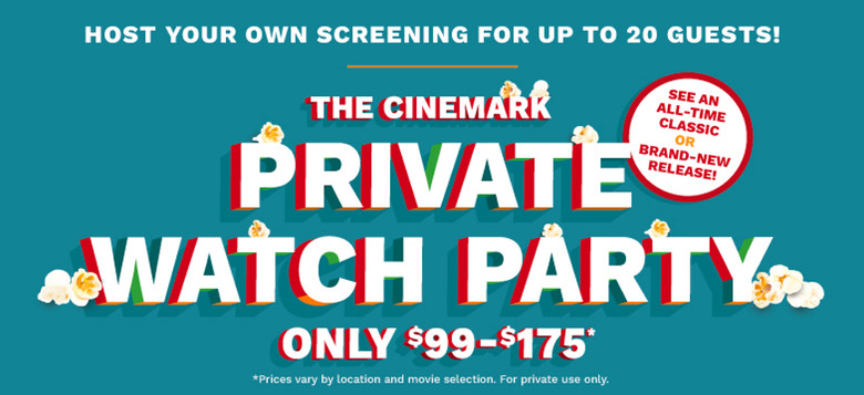 Cinemark Theatre Rental